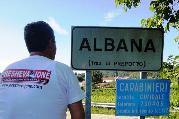 Albana, fshat Ilir në kufi mes Italisë dhe Sllovenisë, që admirohej nga Skenderbeu